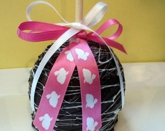 Easter Caramel Chocolate Apples - 3