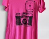 diana camera t-shirt pink tshirt  unisex