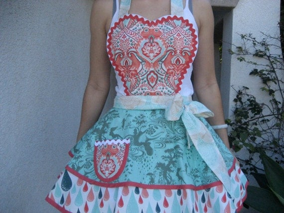 Prince Charming Retro Womens Apron