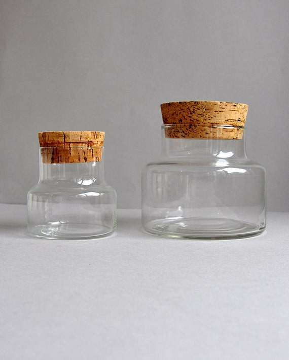 glass apothecary bottles with cork pictures