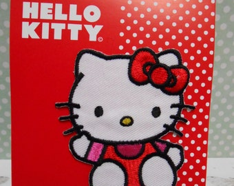 Hello Kitty Applique Embroidered Iron-on Transfert Thermo-Adhesive Patch
