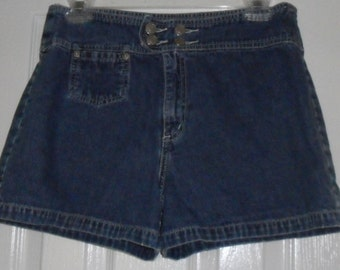 Vintage Shorts Jordache Blue Denim Size 9/10