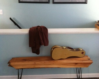 Oak Barn Beam Bench