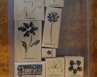 Heartfelt Thanks - Retired - Stampin Up Stamp Set