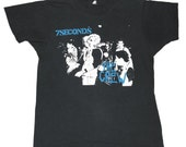 Vintage 1980s 1984 7Seconds 7 Seconds Punk Rock Descendents Original 80s T-Shirt