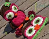 What a HOOT Amigurumi Owl in Organic Cotton