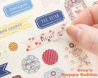 Paper Deco Sticker Set - PETIT DECO VER. 2 - 6 Sheets