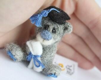Tannof .Teddy bear brooch.