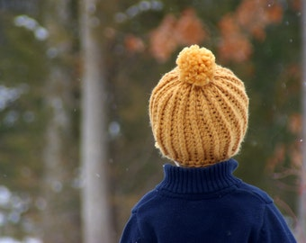Crochet Patterns - Crochet hat pattern - Awesome Knit Look Hat - Instant Download number 118 L