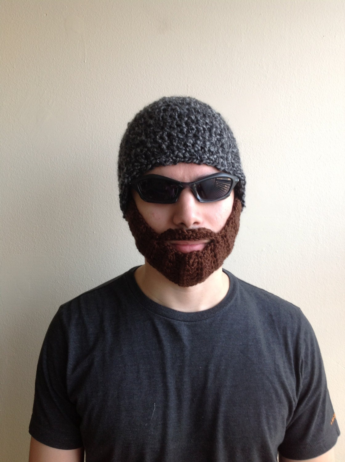Crochet Beard Hat For Men Women Kids Babies In All Sizes