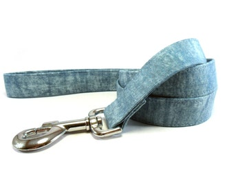 Dog Leash, BLUE Dog Leash, Handmade