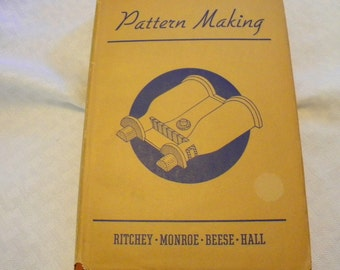 Pattern Making by James Ritchey 1940 edition vintage book
