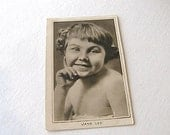 Jane Lee, Black and White Postcard, Old Black and White Postcard No 5