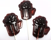 12 ROOT BEER FLOAT Lollipops - Available in any flavor or color