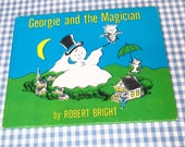 RESERVED georgie and the magician, vintage 1966 children's book