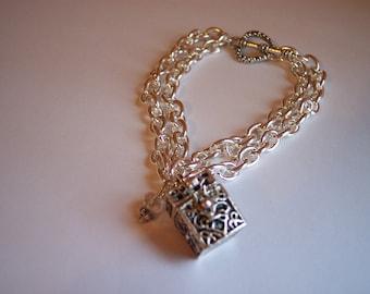 Prayer Box Bracelet or Necklace