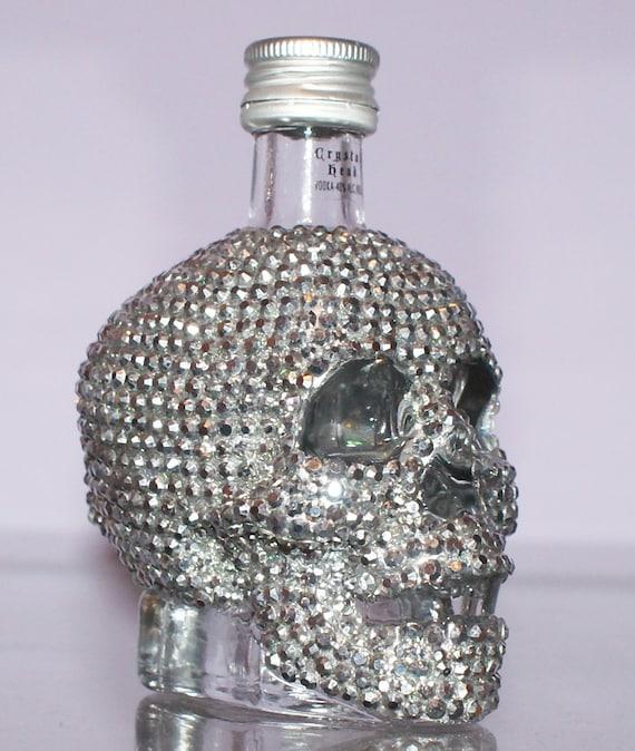 28 Best Skull Perfume Bottles Images On Pinterest: Skull Bottle/Crystal Head Vodka Mini Bottle 50ml By Diamantediva