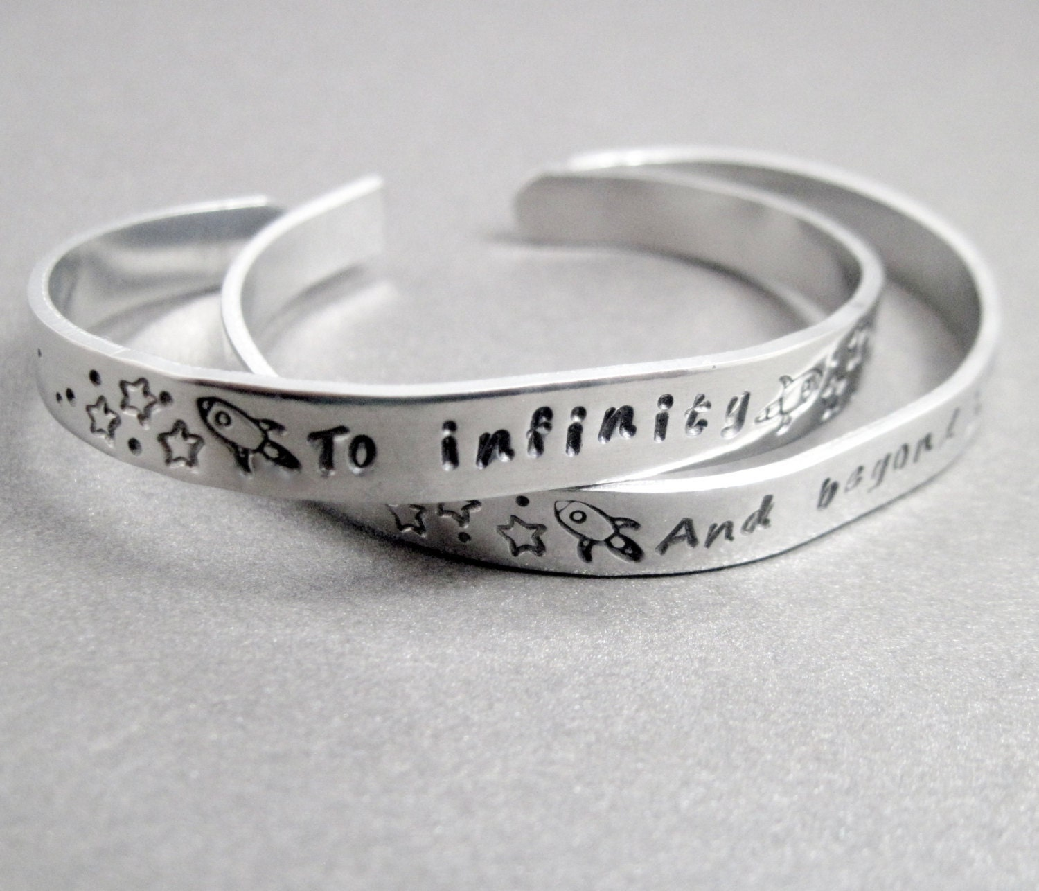 friendship bracelets set of two to infinity and beyond