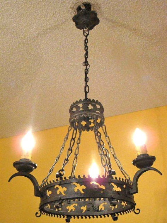 Hand Forged Iron Lighting Fixtures Hand Forged Sconce