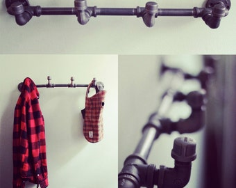 Industrial coat rack (FREE SHIPPING)