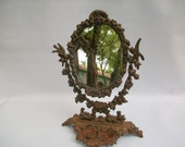 Cast Iron Vanity Mirror