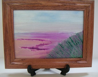 Original Oil Painting On Canvas Panel (FREE Shipping)