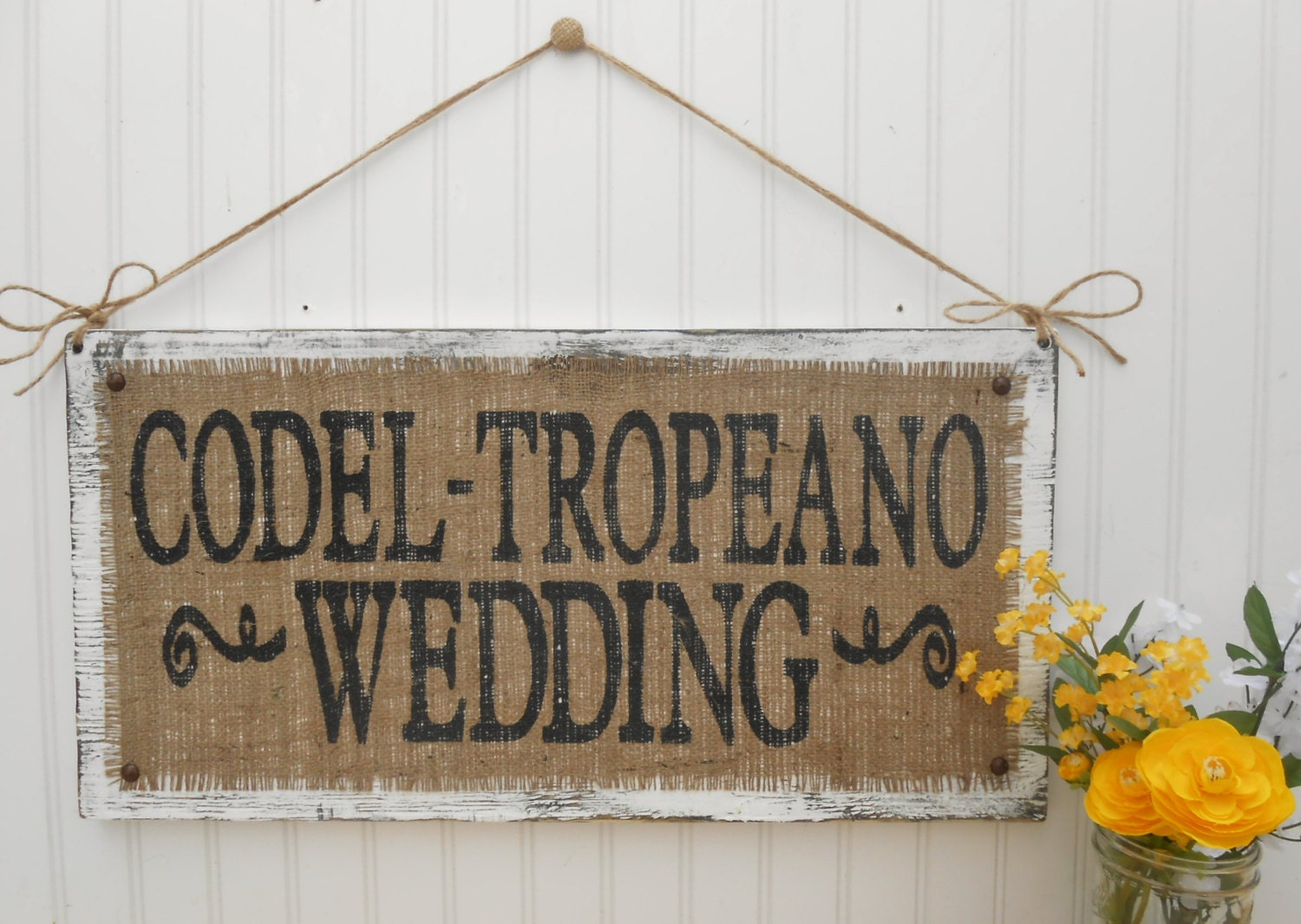Last Name Wedding Sign Welcome Ceremony And Reception Decor