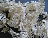 Elegant Cotton Beige Venice LACE Trim
