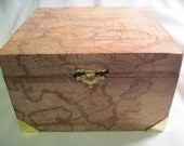 RESERVED ITEM for Samantha.Old World Map Storage Box Stationary Box Mens Jewelry Box upcycled Cigar Box