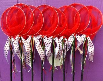Ladybug Nets, Butterfly Nets,  Birthday Party Favors