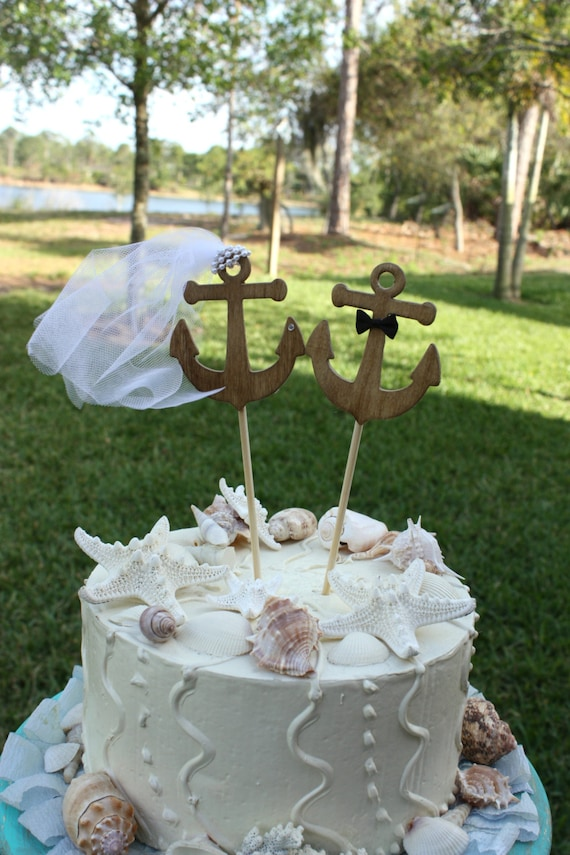anchor themed wedding cakes anchors away wedding cake topper anchors boat by 10748