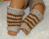 Hand Knit  Leg Warmers Baby Girl / Boy Toddler Leg Warmers, Newborn Leg Warmers, Girl Leggings, Child Leg Warmers / Baby shower gift