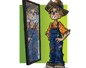 Scarecrow Illustration