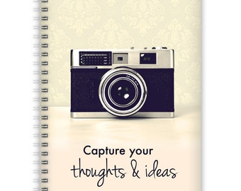 Notebook A5 - Vintage Camera