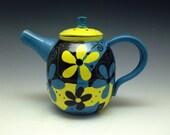 Teapot - Handmade, Hand-painted Ceramic Teapot