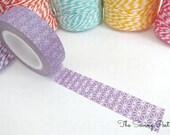 Washi Tape: Purple Stars