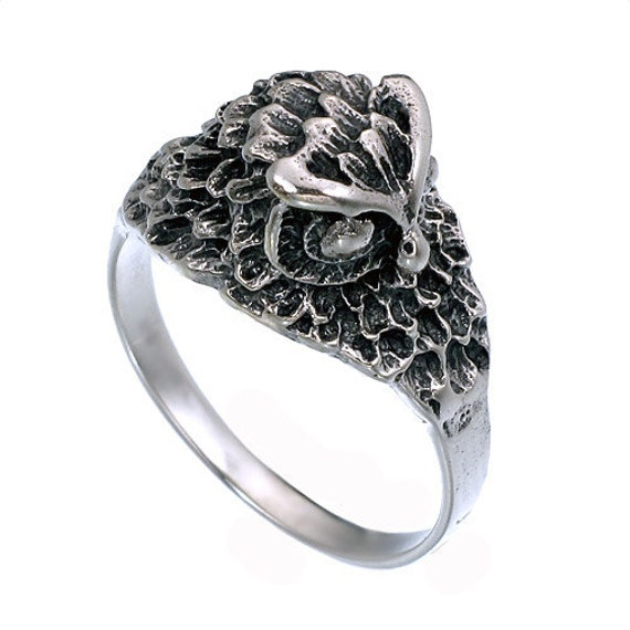 925 sterling silver owl ring owl ring owl by