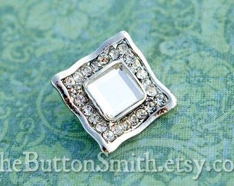 Rhinestone Buttons -Sadie- (25mm) RS-018 - 20 piece set