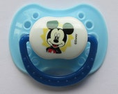 "Reborn Doll Magnetic Pacifier, Disney ""Mickey Mouse""  With Magnets & Instructions"