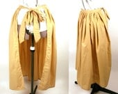 Custom Peasant Apron - Choose Your Color - Adult Sized Costume