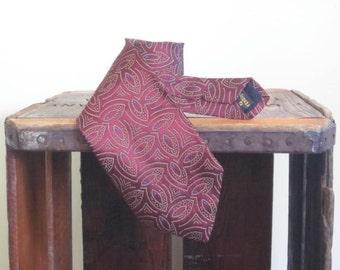 Fendi / Italian Silk Tie / Fathers Day Gift / Designer / 80s Men