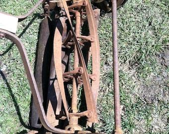 Antique Reel Mower