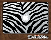 Zebra Laptop Skin - Macbook - FREE SHIP