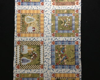 Carol Endres fabric - Topiary Snowman Collection - Benartex - OOP