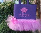 Princess Crown Tutu Bag