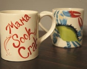 coffee mug - tea mug - Mama Sook Crab - Listing for 1 coffee mug