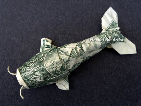 Origami Dollar Koi Fish 595918 Findsjobfo