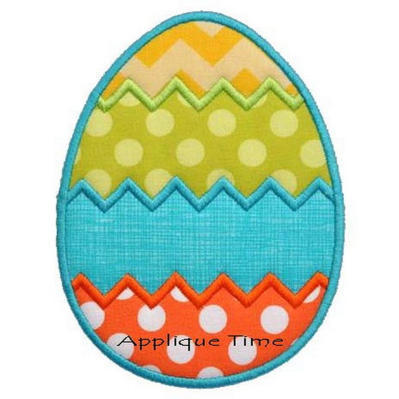 Instant download chevron easter egg machine by appliquetime