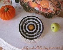 Spiral Jack Dollhouse Halloween Plate