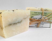 PIECE OF PEACE Lavender Chamomile Artisan Milled Soap